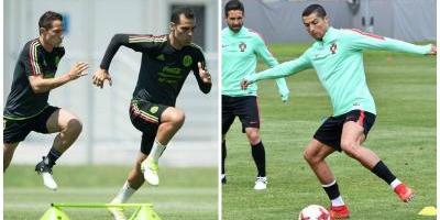 Portugal, como primera de Grupo, y México acceden a semifinales