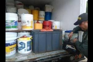 Decomisan mil kilos de queso que eran transportados en camión con cucarachas
