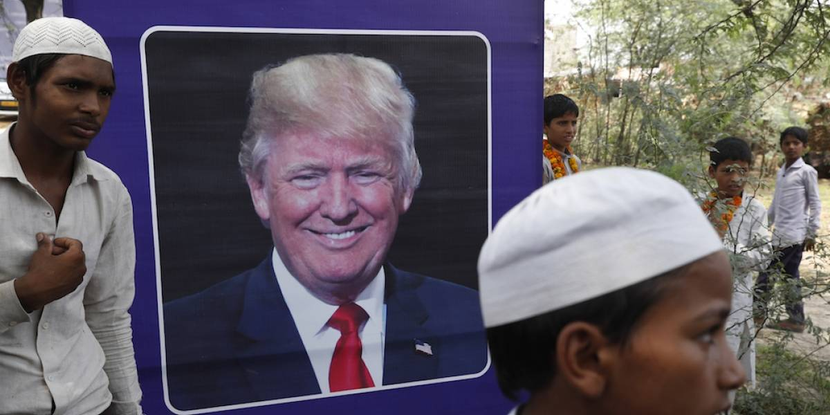 Aldea en India cambia su nombre a Villa Trump