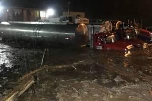 ¡Atención! Vía Bogotá – Villavicencio está bloqueada por varios derrumbes