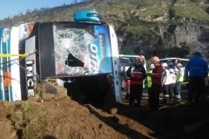 14 heridos dejó accidente de tránsito en Oyacoto