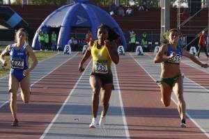 Ángela Tenorio consiguió medalla de oro en los 100 metros