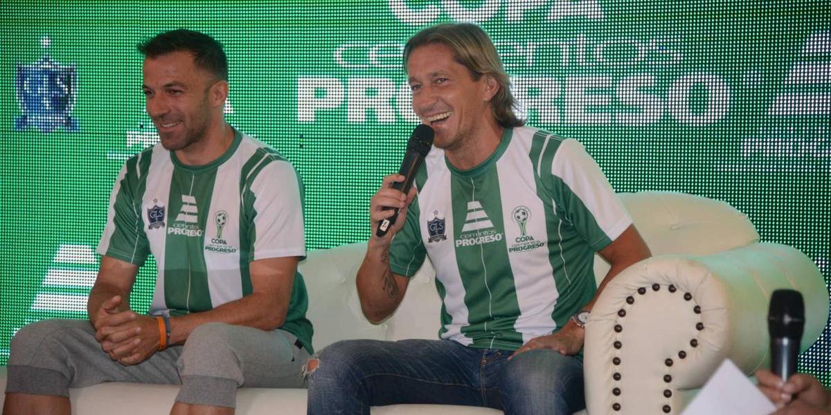 VIDEO. Del Piero y Salgado comparten su alegría por jugar en Guatemala