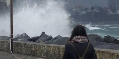 Alerta preventiva en costa de Cardenal Caro por marejadas