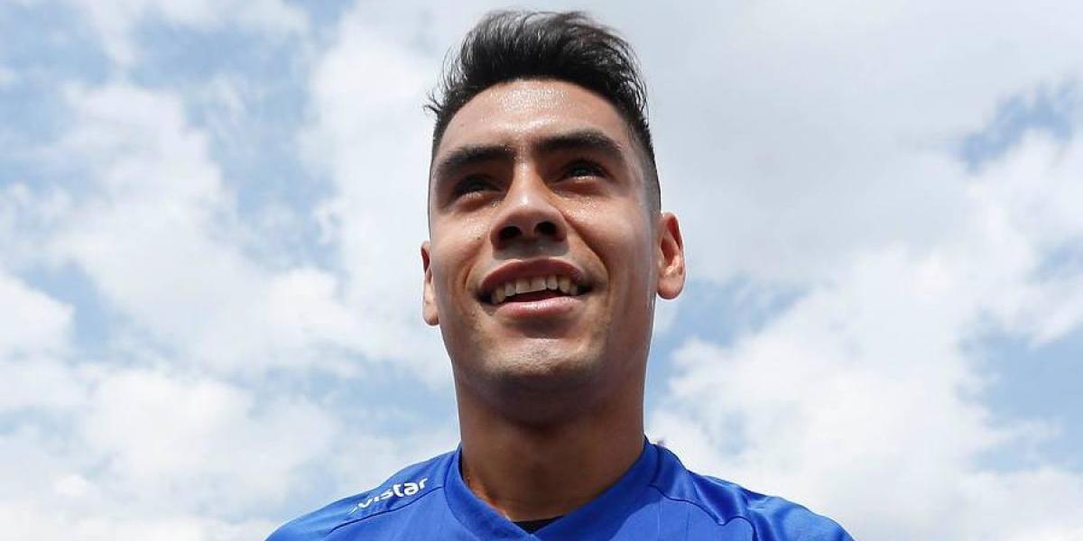 """Felipe Mora en modo Cruz Azul: """"Sé que vengo a uno de los equipos más grandes de México"""""""