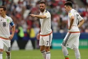 Las tres dolorosas bajas de México para semifinales de Confederaciones