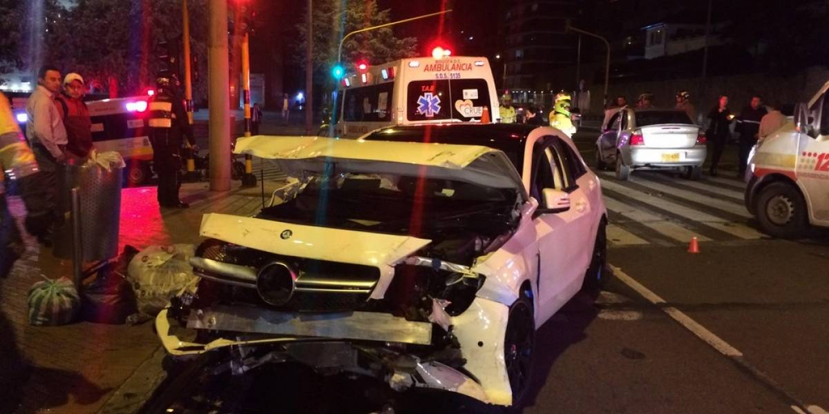 Video: Grave accidente en la carrera séptima en la noche del 23 de junio