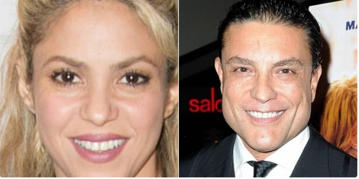 Con este video Osvaldo Ríos recordó su noviazgo con Shakira