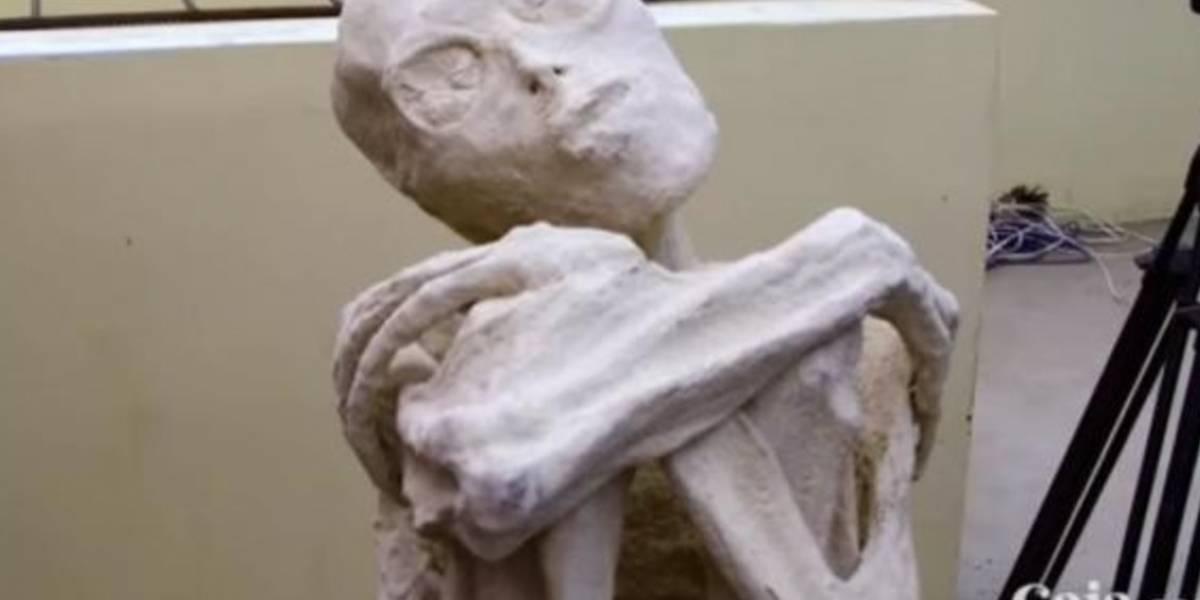 """VIDEO. Esta es la verdad detrás de la momia """"humanoide"""" descubierta en Perú"""