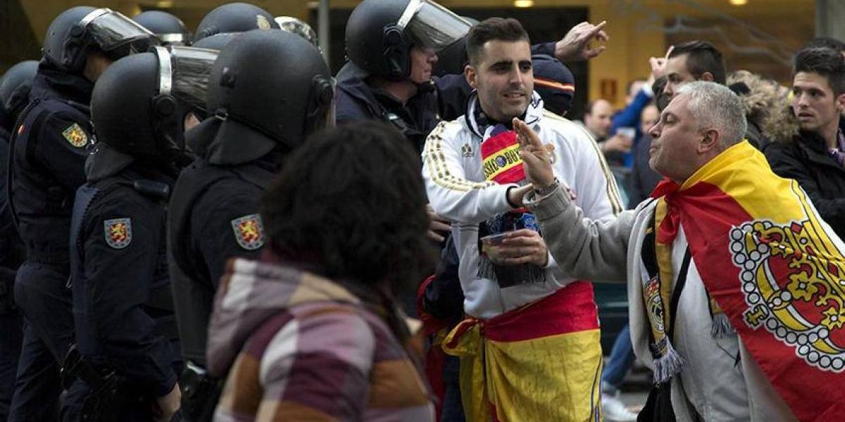 Fueron detenidos cuatro Ultras Sur por amenazar a directivos del Real Madrid