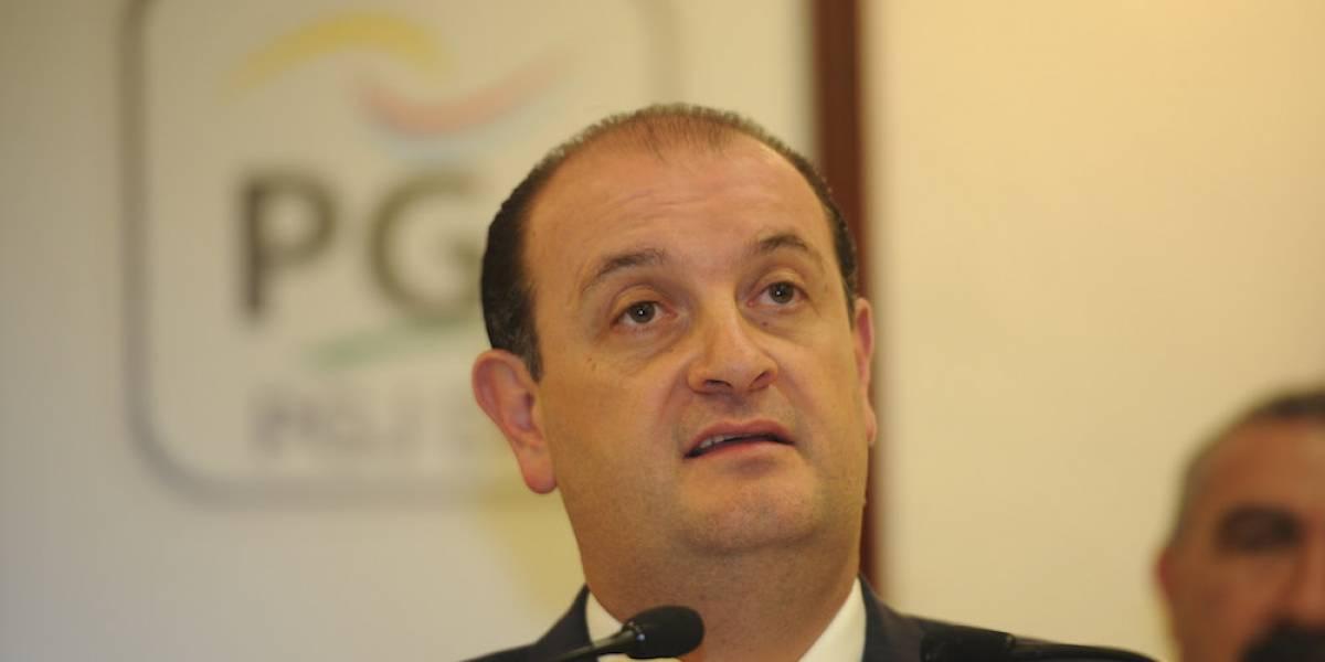 Rodolfo Ríos renuncia al cargo como titular de la Procuraduría capitalina