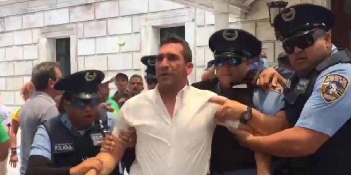 Rosselló accionará contra Rivera Guerra si agresión fue