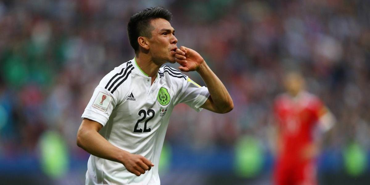 'Chucky' Lozano, el mejor jugador del México vs. Rusia