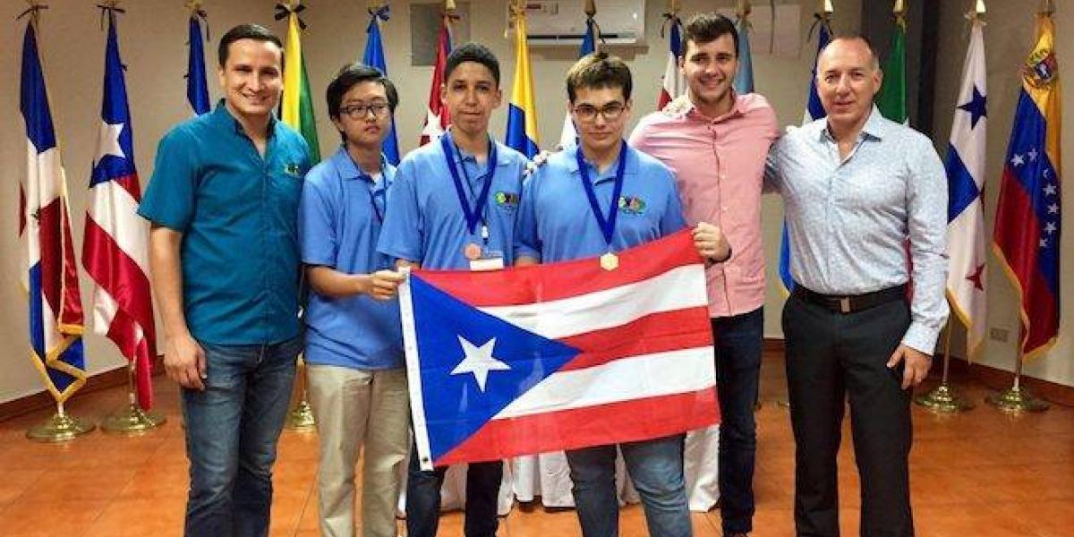 Joven boricua gana oro en competencia internacional de matemáticas