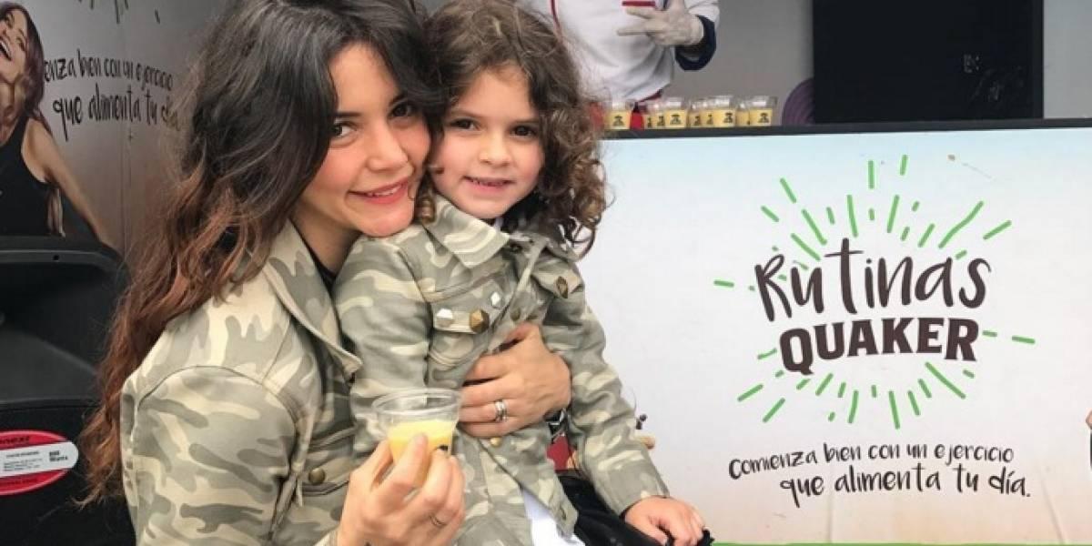 Maleja Restrepo cuenta la triste historia de la pérdida de un bebé