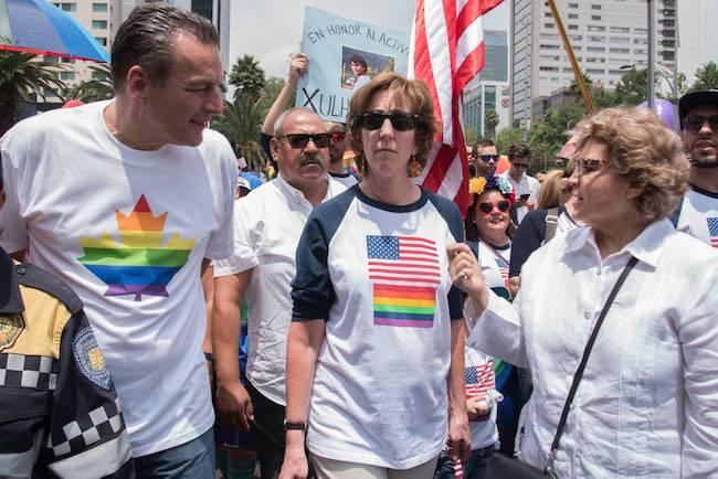 Marcha del Orgullo LGBTTTI 2017 Foto: Cuartoscuro