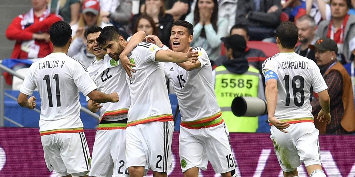 México vence a Rusia y consigue su pase a Semifinales de la Confederaciones