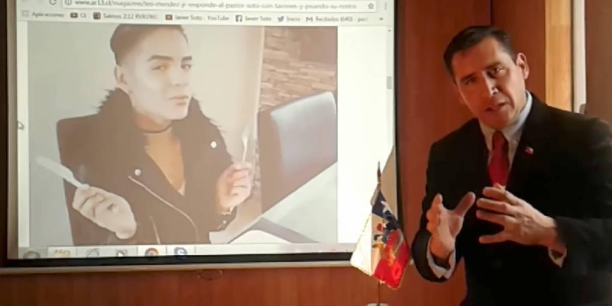 """La descarga del Pastor Soto por el video de Leo Méndez Jr: """"Es una vergüenza nacional""""."""