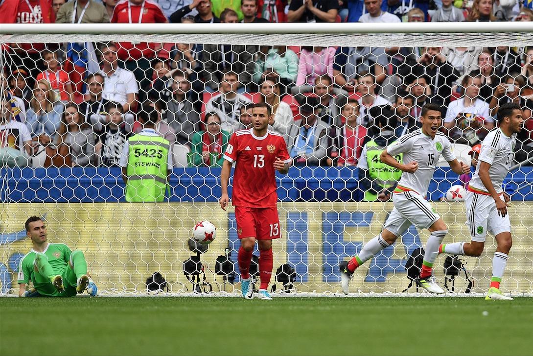 Portugal y México avanzan a semifinales en la Copa Confederaciones