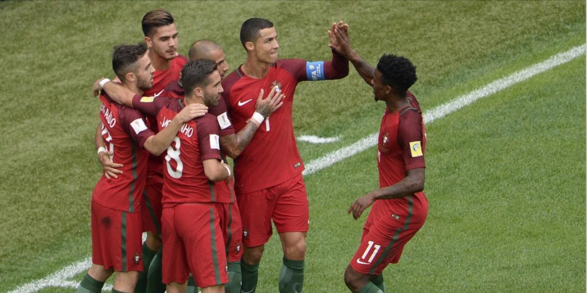 Portugal golea y ya piensa en obtener el pase a la final