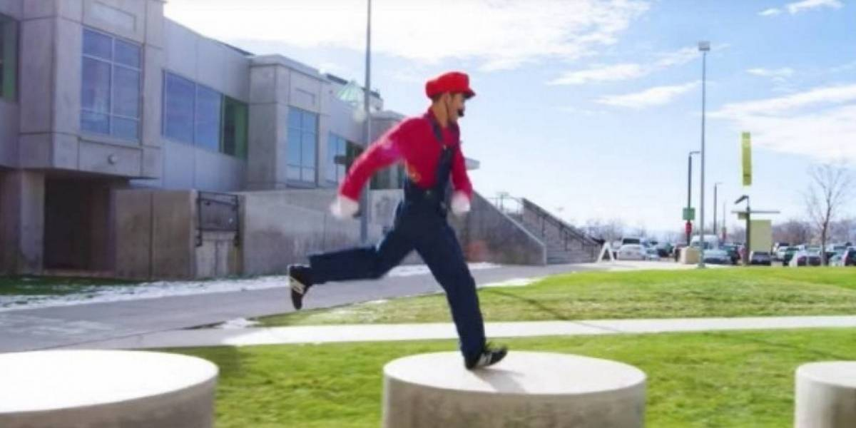 """Mario Bros podrá ser jugado """"en el mundo real"""" gracias a lentes holográficos"""