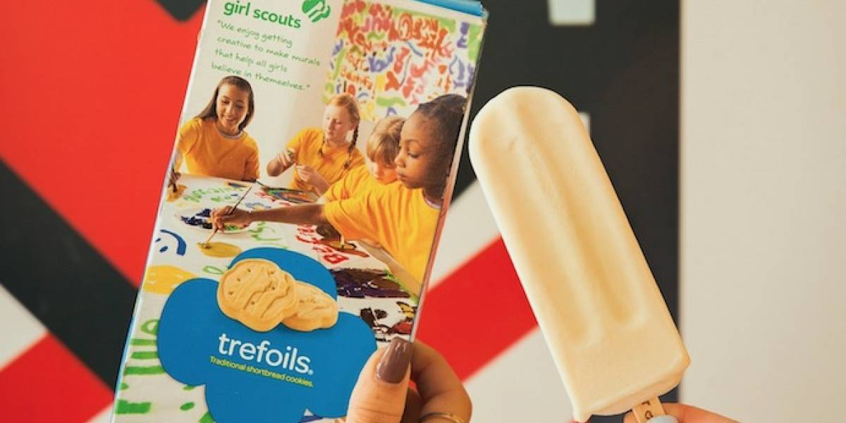 Lanzan paleta con sabor a galletas de Girl Scouts