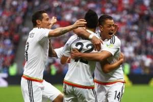 México se impone a Rusia en la Copa Confederaciones