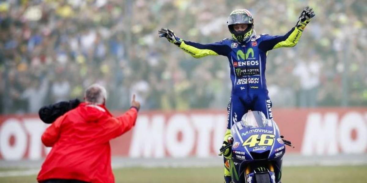 El eterno Valentino Rossi más vigente que nunca en el Moto GP: ganó la carrera en Holanda