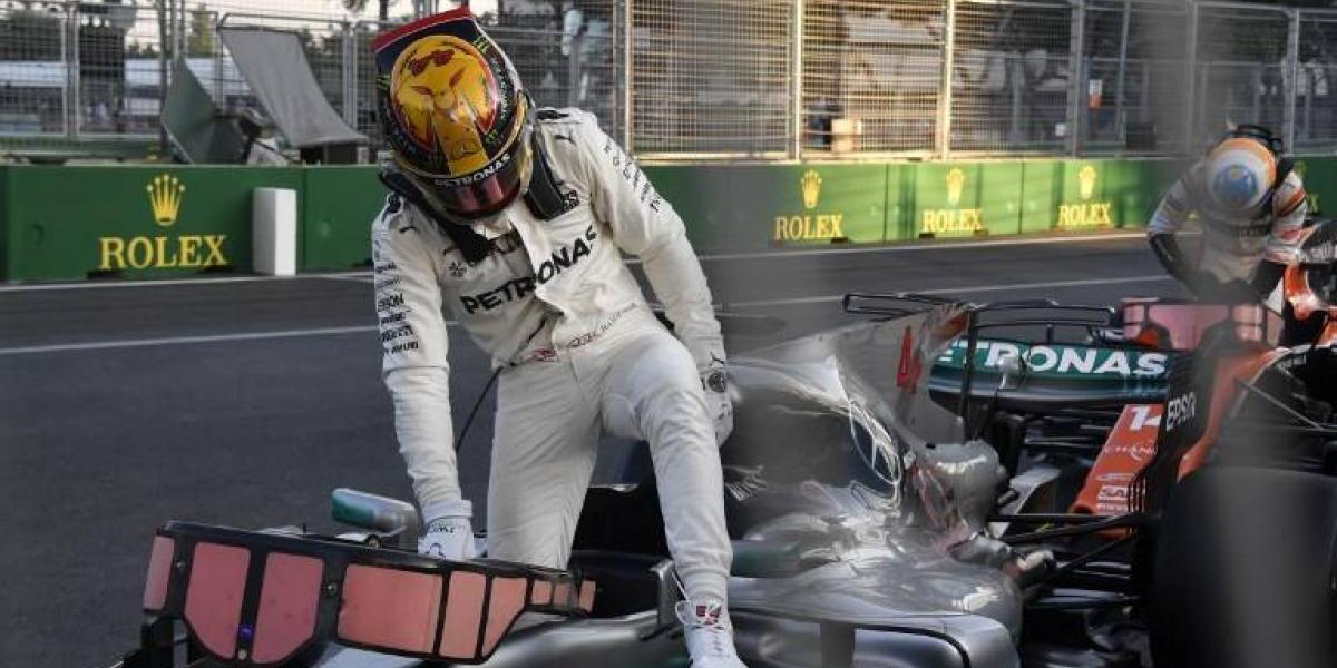 "El fuerte mensaje de Hamilton a Vettel: ""Si es un hombre, que lo demuestre cara a cara"""