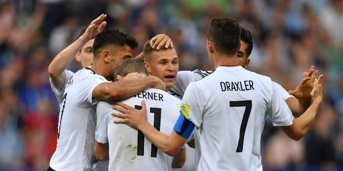 Alemania superó claramente a Camerún y ganó el grupo de Chile en la Confederaciones