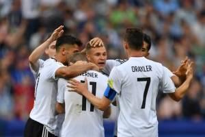 Alemania superó claramente a Camerún y ganó el grupo de Chile