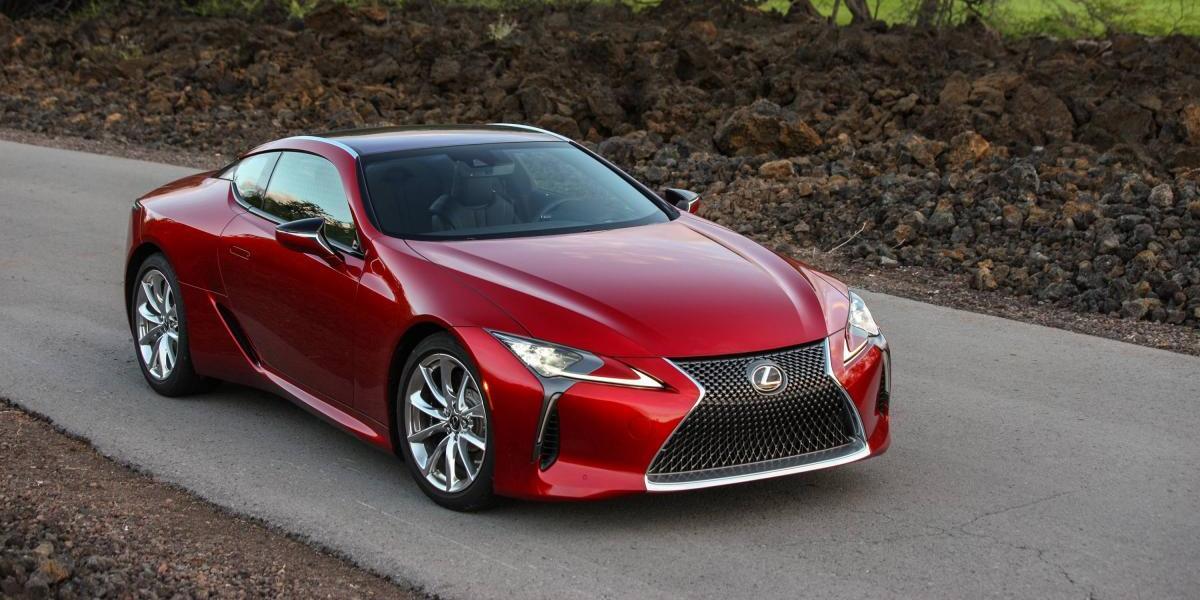 El nuevo Lexus LC 500 busca conquistar los deportivos de lujo