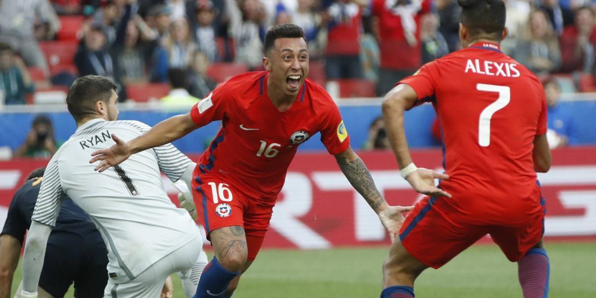 Chile pasa a semifinales de la Copa Confederaciones