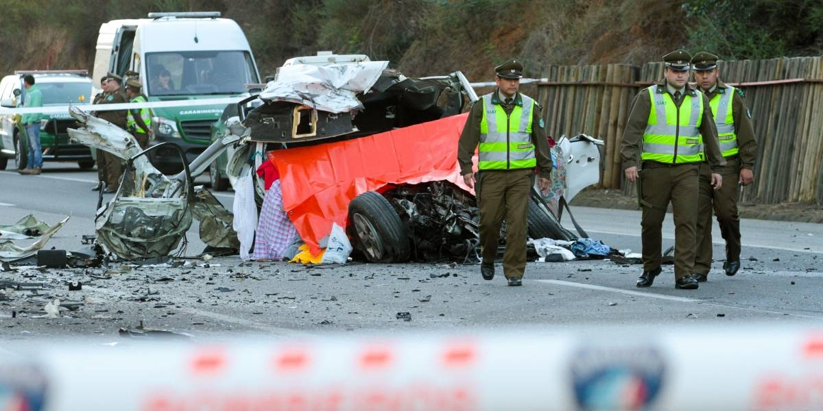 Aumenta a cinco las víctimas fatales por accidentes de tránsito durante fin de semana largo
