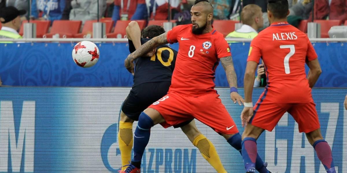 Así vivimos el trabajado empate de Chile ante Australia por la Copa Confederaciones