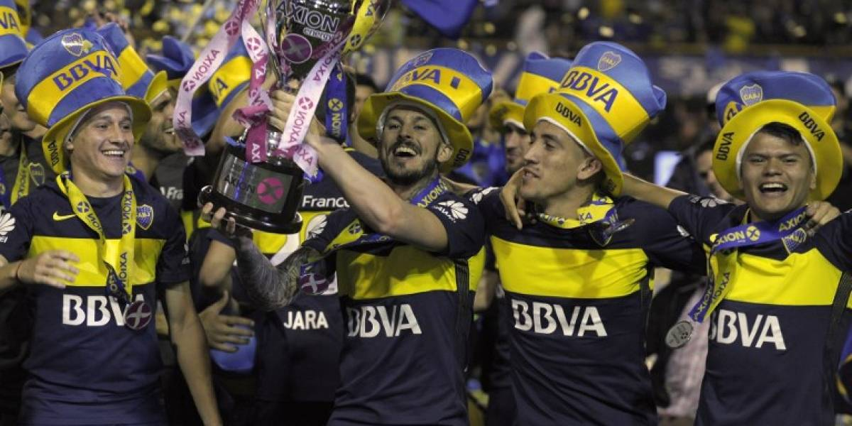 VIDEO. Boca Juniors celebra el campeonato con fiesta en la Bombonera