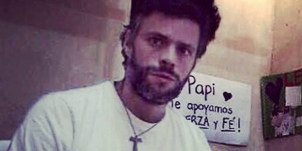 Publican video de Leopoldo López pidiendo auxilio