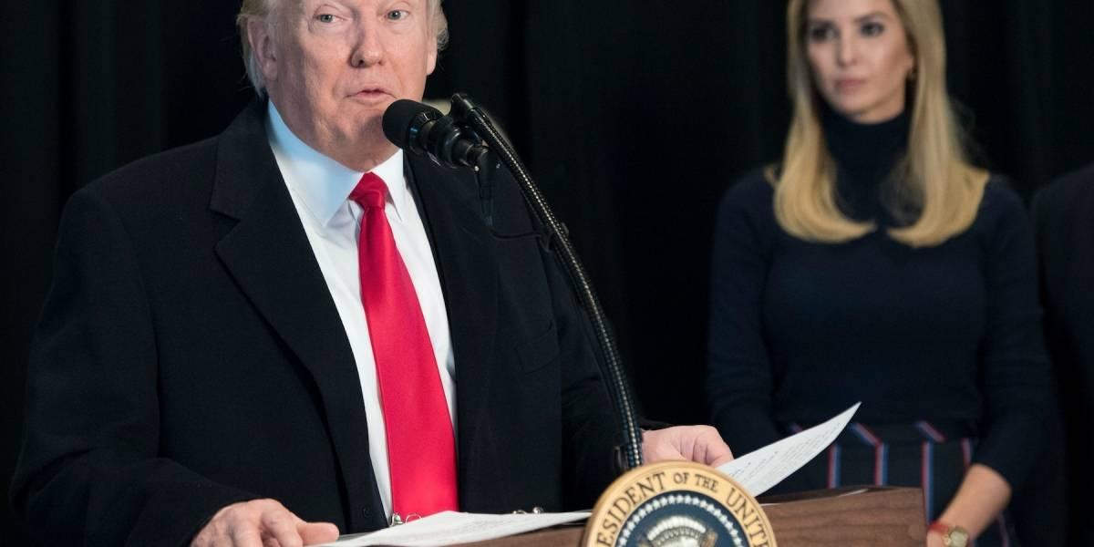 Trump arremete contra los demócratas por su oposición al plan de salud