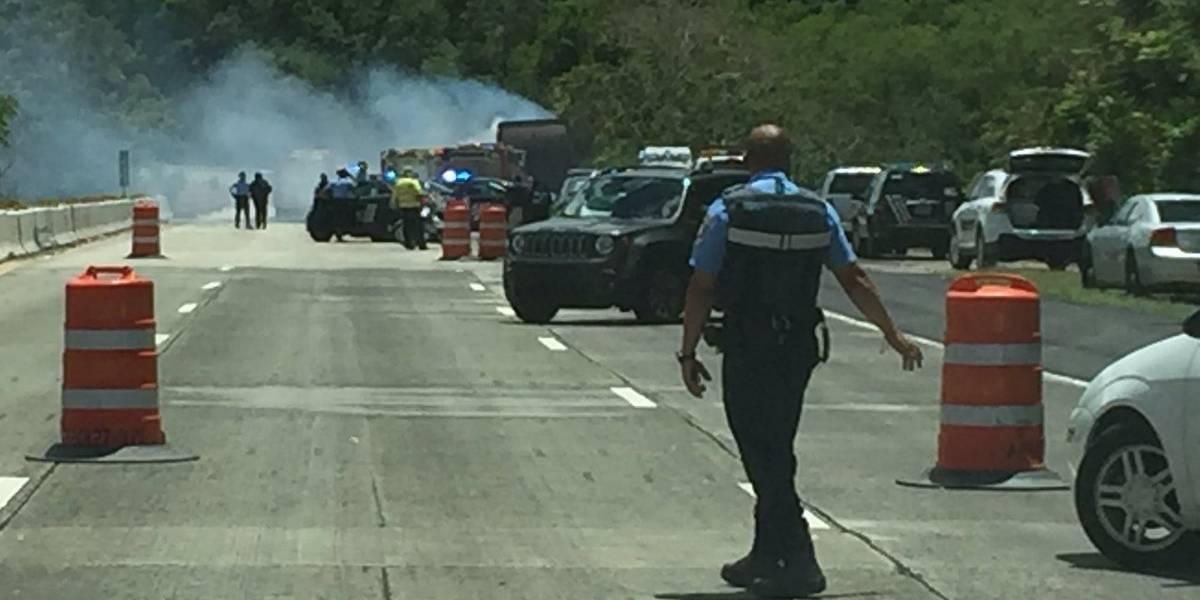 Policía identifica a niña quemada en accidente de Caguas