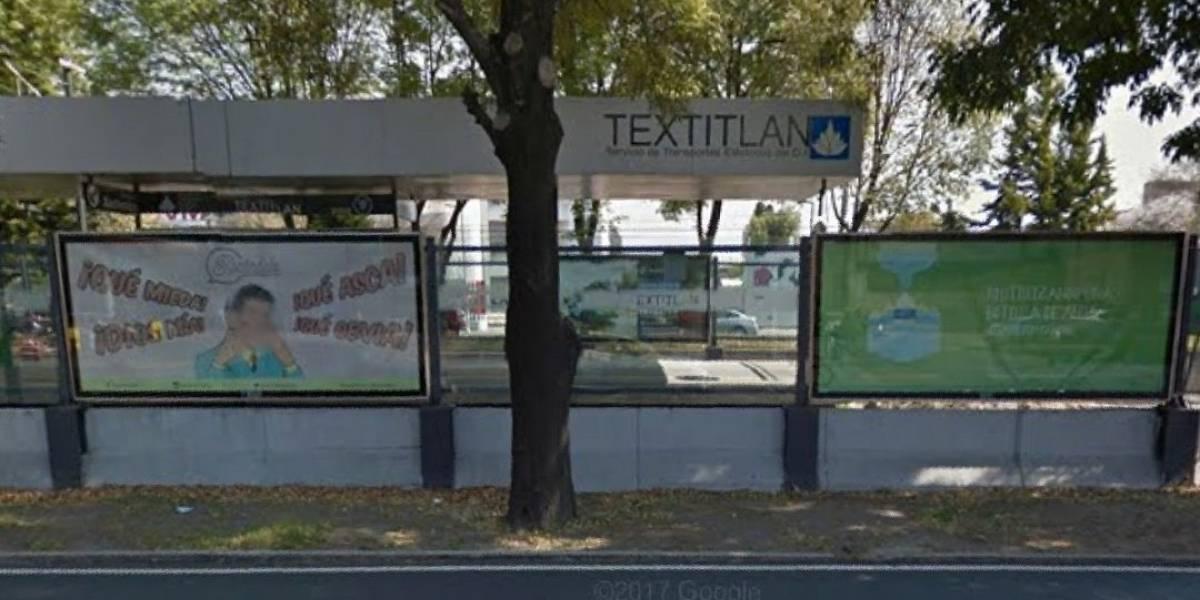Descarrila Tren Ligero en la estación Textitlán