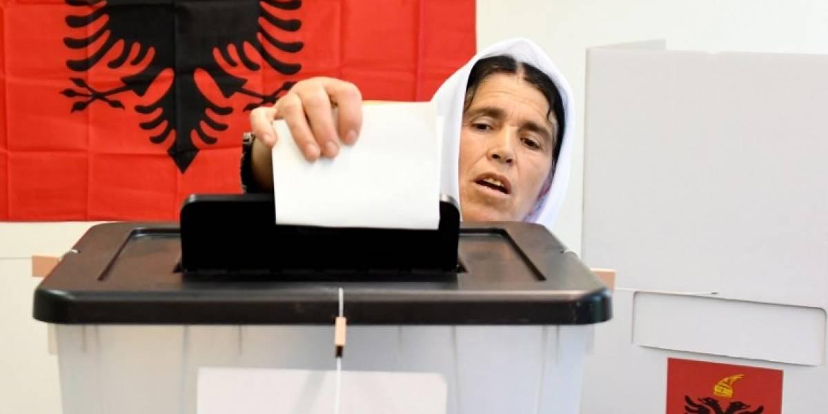 Escasa participación en unas legislativas de Albania