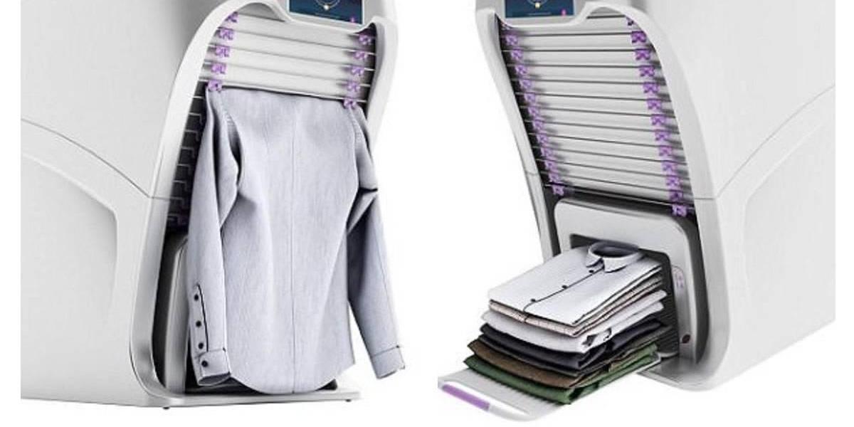 La máquina que dejará atrás la tarea de planchar