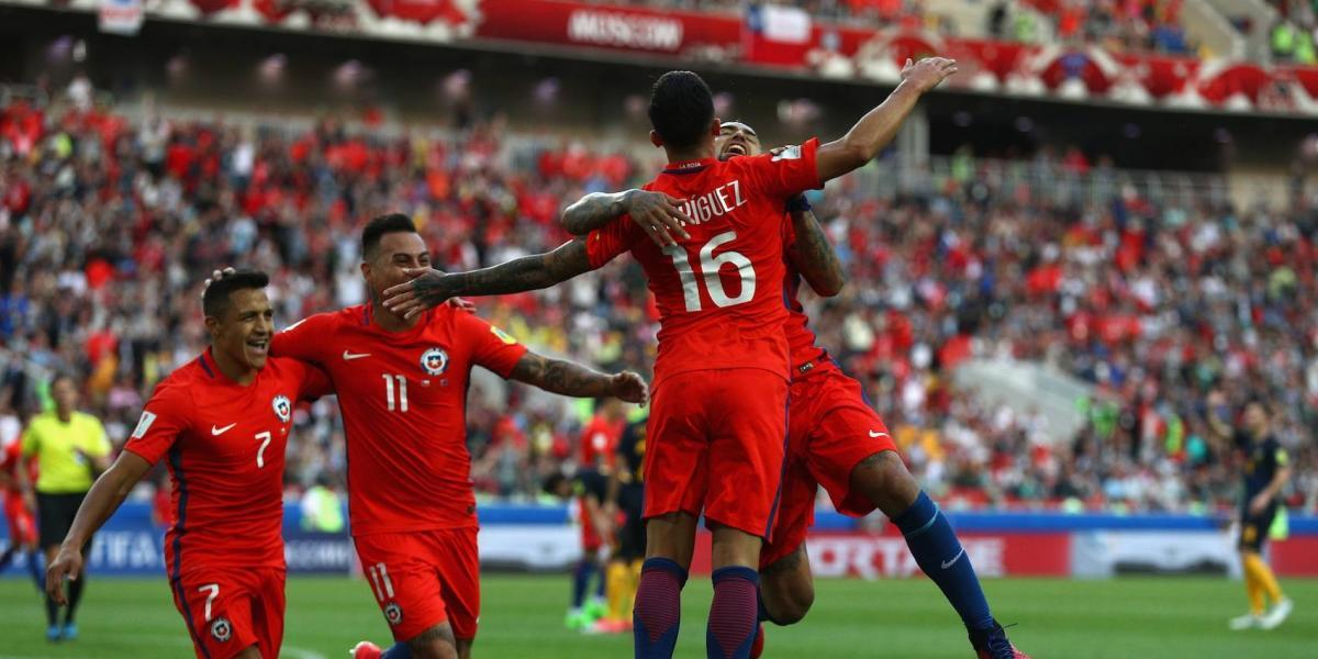 Chile logra sufrido empate y avanza a la Semifinal de la Confederaciones
