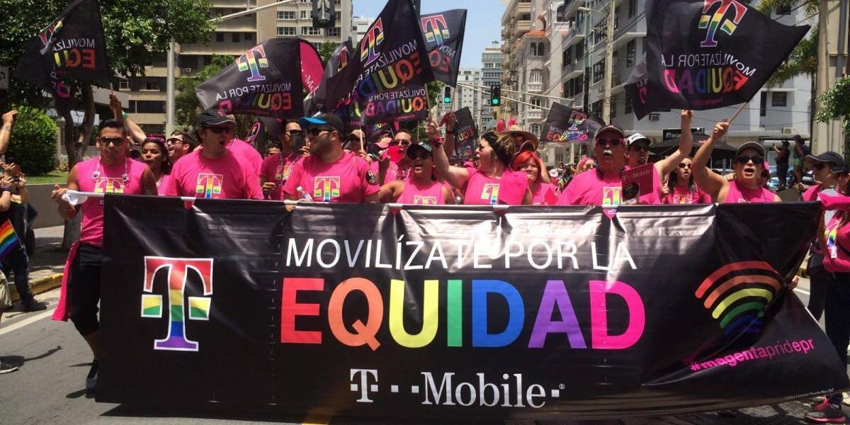 T-Mobile vuelva a participar en marcha por la equidad
