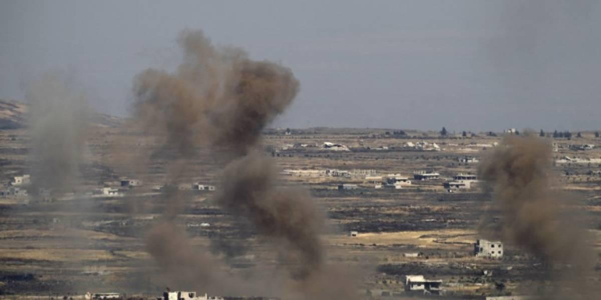 Israel ataca posiciones del régimen sirio en respuesta a disparos