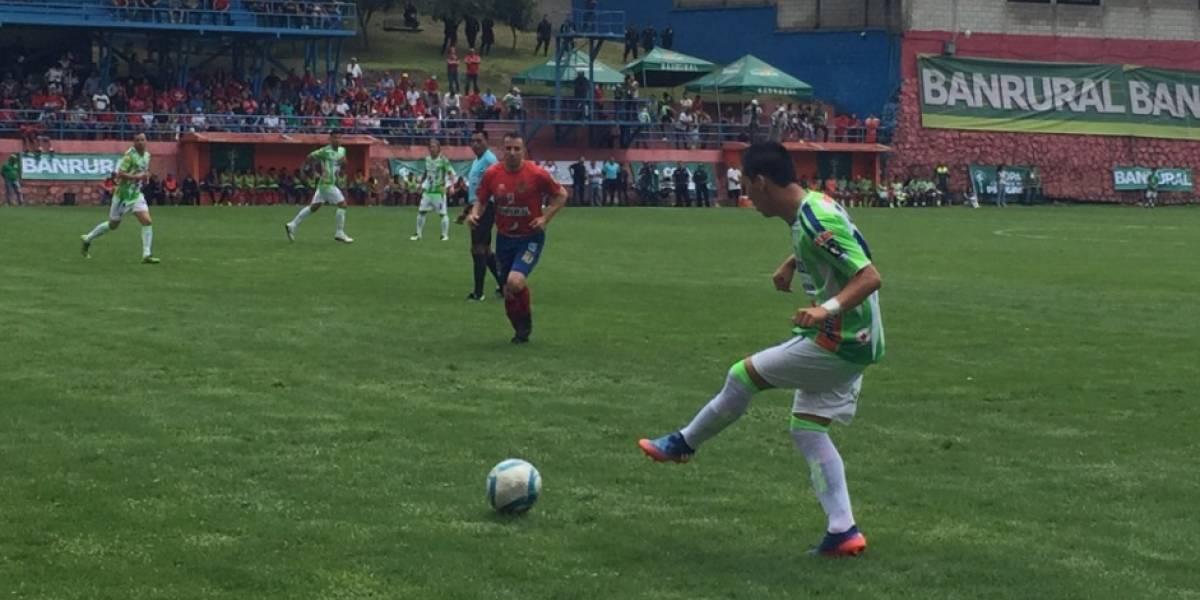 Del Piero marca la diferencia para los rojos en la Copa Cementos Progreso