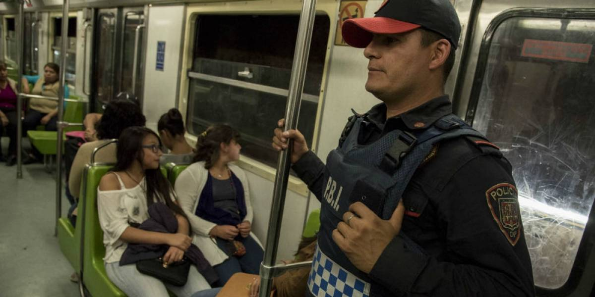 Asaltos dentro del Metro se triplicaron en los últimos cinco años