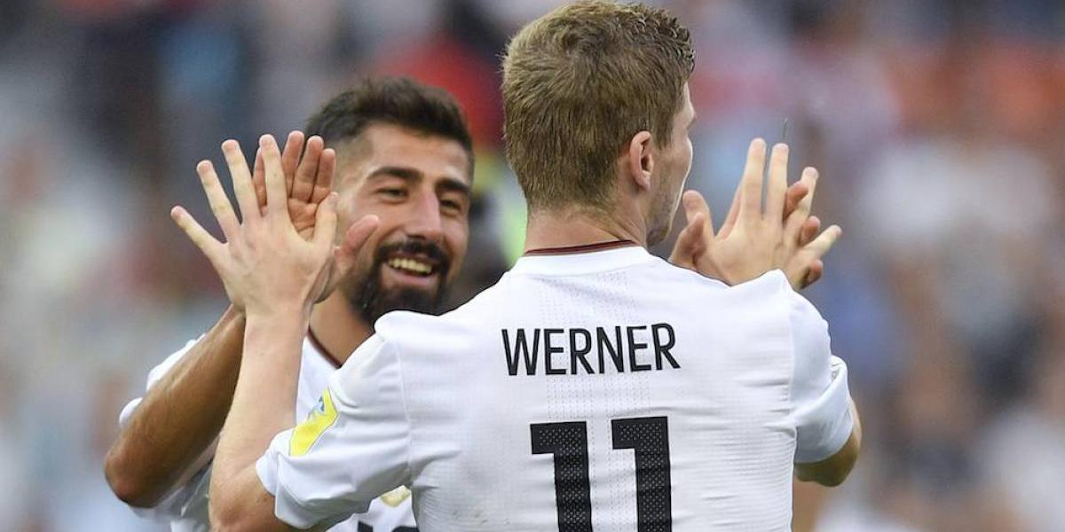 Alemania arrolló a Camerún y termina primera del Grupo B
