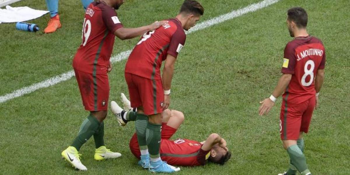 Portugal entrenó pensando en Chile con una de sus figuras en duda