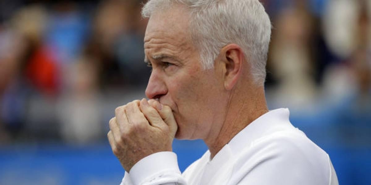 John McEnroe: Williams sería como la 700 en tenis masculino